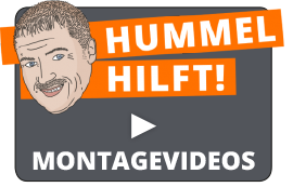 Hummel hilft - Montagevideos