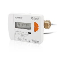 Q heat 5 (elektronischer Kompakt-Wärmemengenzähler)